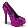 TEEZE-06GW Hot Pink Glitter